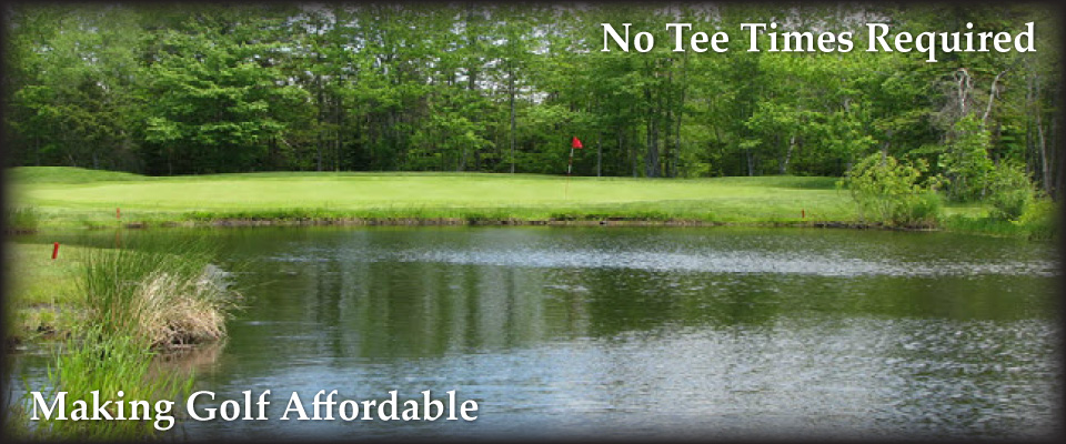 Golf Pond | Making Golf Affordable | No Tee Times Required